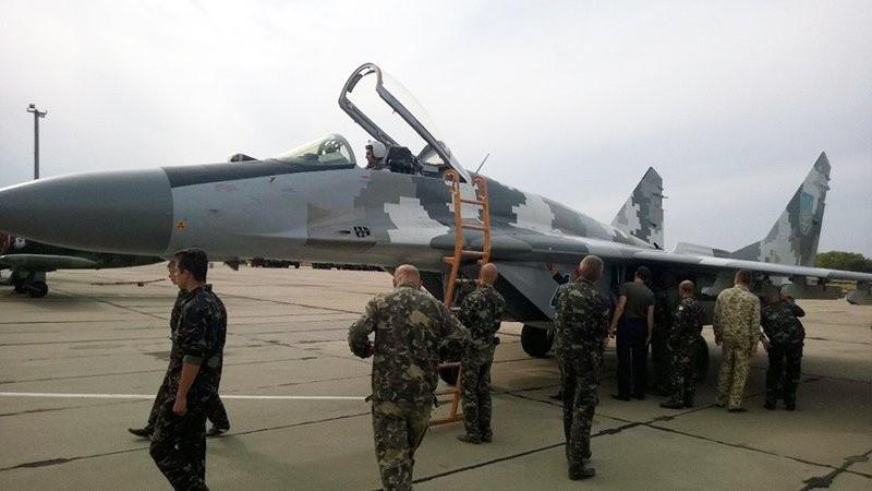 МіГ-29 204-ой Севастопольської бригади тактичної авіації