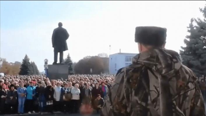 ДНР ЛНР Стрельба из живых кварталов