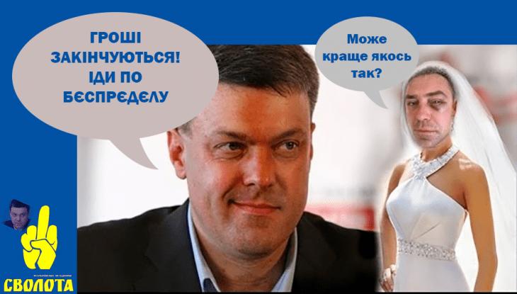 Тягнибок Ігорь Мірошніченко партия Свобода